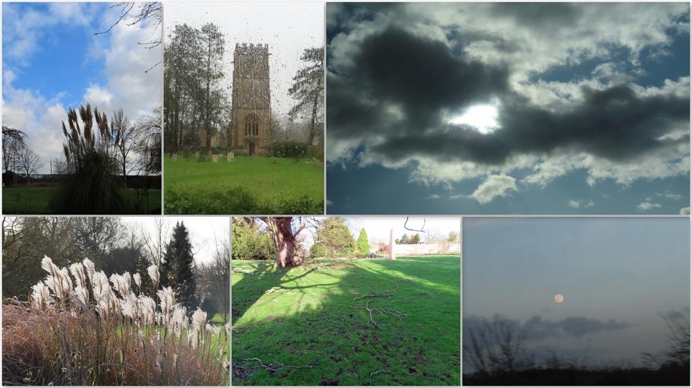 photoblog image The English weather in February